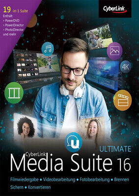 CyberLink Media Suite 16 Ultimate, Download, Windows