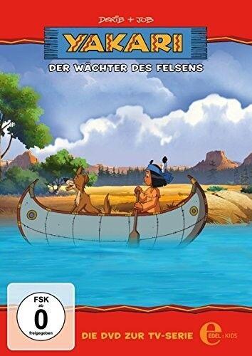 YAKARI - (24)DVD Z.TV-SERIE-DER WÄCHTER DES FELSENS   DVD NEU