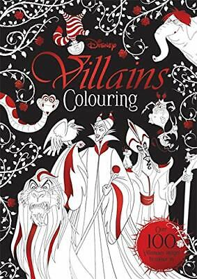 Disney Classics - Mixed Villains Colouring Villains Colou by  New Paperback Book