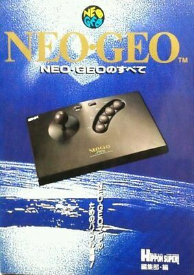 Used All of the game Book NEO GEO Database Rare Japan Import Free Shipping