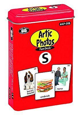 Articulation Photos S Sound Flash Cards Super Duper Fun Deck Vocabulary Language