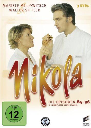 3 DVDs  * NIKOLA - DIE 8. STAFFEL |  MILLOWITSCH & SITTLER # NEU OVP B&