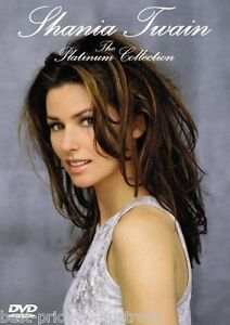 SHANIA TWAIN: The Platinum Collection DVD BRAND NEW MUSIC Come On Over 21 SONGS