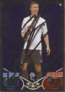 Match Attax 10 11 Signed