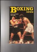 Boxing Record Books
