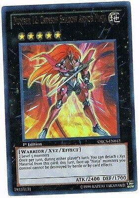 stung von Shadow Scarlet Yu-Gi-Oh! ORCS-EN042 Eng Ultra 1 Und (Ninja-rüstung)