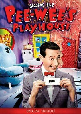 Pee-wee's Playhouse: Seasons 1 & 2 (Special Edition) [DVD] NEW!