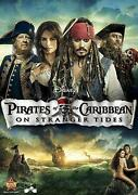 Pirates of The Caribbean on Stranger Tides DVD