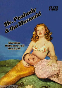 Mr. Peabody and the Mermaid-DVD-R-Movie-Starring William Powell (1948)