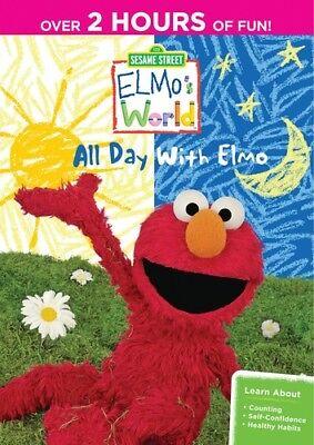 Sesame Street - Sesame Street: Elmo's World - All Day with Elmo [New DVD] Full F