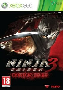 Ninja Gaiden 3 Razor's Edge Xbox 360 * NEW SEALED PAL *