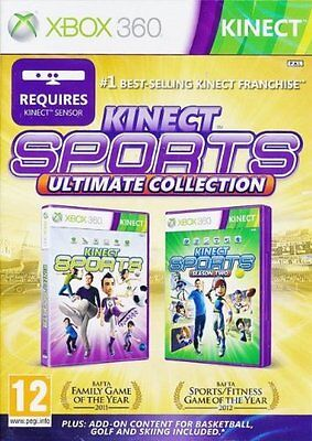 Kinect Sports  Ultimate Collection  Xbox 360  Season One   Two Plus Bonus  New