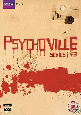 PSYCHOVILLE: Series 1 + 2 + Halloween Special [BBC] (DVD)~~~~~~NEW & SEALED  - Halloween Movie Series Box Set