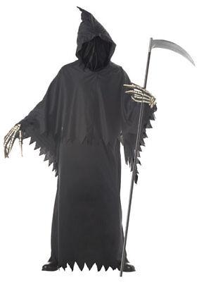 Grim Reaper Deluxe Adult Halloween - Grim Reaper Deluxe Kostüm