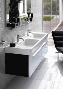 doppelwaschtische in jedem stil bei ebay finden ebay. Black Bedroom Furniture Sets. Home Design Ideas