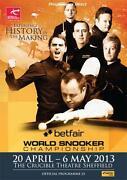 Snooker Programme