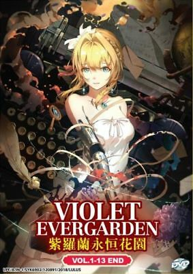 Violet Evergarden Anime Dvd  Vol  1 13 End  With English Audio