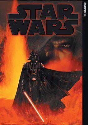"""STAR WARS x Manga """"Black"""" Japanese Anthology Manga Collection w/Poster"""