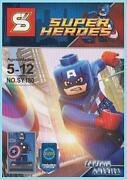Lego Superheroes Captain America