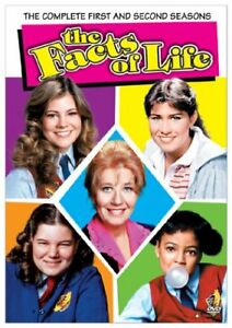 The Facts of Life T.V. Show-1st and 2nd Season-4 dvd box set +
