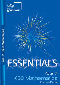 Year 7 Maths: Course Book (Lonsdale Key Stage 3 Essentials): Ages 11-12