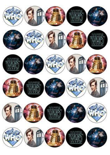 dr who cake topper ebay. Black Bedroom Furniture Sets. Home Design Ideas