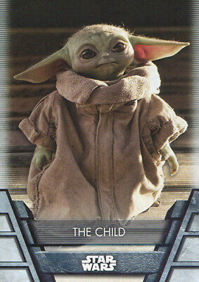 2020 TOPPS STAR WARS HOLOCRON THE CHILD SP SHORT PRINT BASE CARD N-21S