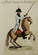 Kupferstich Pferd
