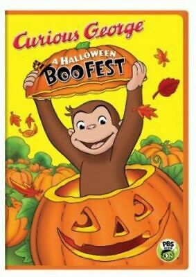 Curious George: A Halloween Boo Fest (DVD, 2013, Canadian)