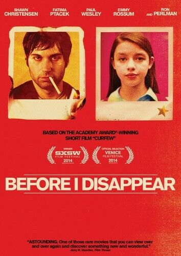 Before I Disappear [new Dvd]
