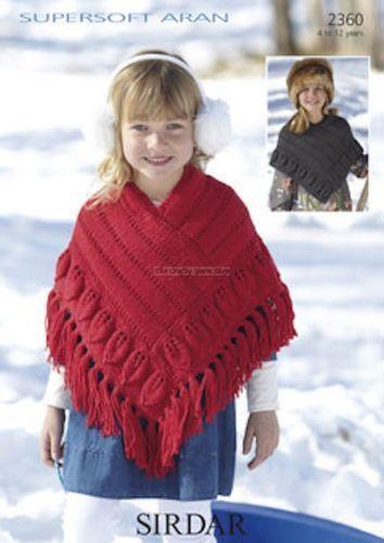 Girls Knitting Patterns Ebay
