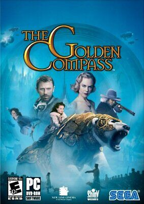 Computer Games - The Golden Compass PC Games Windows 10 8 7 XP Computer action kid family
