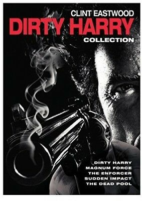 5 Film Collection: Dirty Harry [New DVD] Boxed Set, Eco Amaray Case