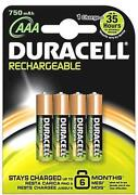AAA Rechargeable Batteries 750mAh