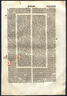 Religion, Bibles Incunabula 1490-1500 Date of Publication