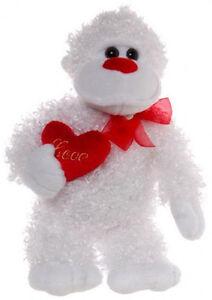 Teddy-amp-Friends-Gorilla-Magilla-Valentine-Day-33cm-Soft-Plush-Toy-NEW