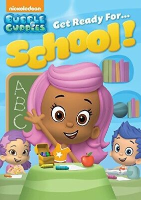 Bubble Guppies: Get Ready For...School! [New DVD] Full Frame, Sensormatic