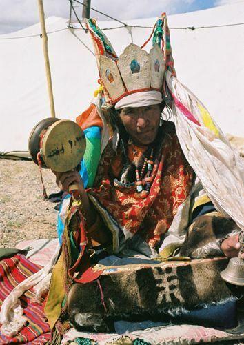 ORIG $749 NEPAL/TIBET SHAMAN NECKLACE 16IN PROV