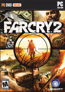PC - FAR CRY 2 UbiSoft Game (Brand NEW Sealed) PC