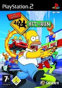 the simpsons hit and run  playstation 2  ps2