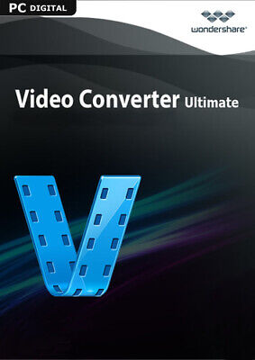 Wondershare Video Converter Ultimate 2017 - lebenslange Lizenz ESD PC Video Converter