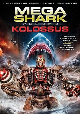 Syfy Shark Movies (MEGA SHARK VS KOLOSSUS New Sealed DVD)