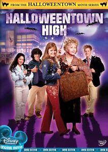 HALLOWEENTOWN HIGH (Disney Channel) -  DVD - REGION 1 - Sealed