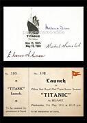 Signed Titanic Print