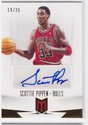 Scottie Pippen Autograph