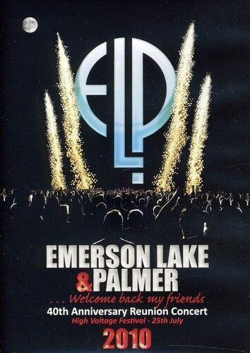Emerson, Lake & Palmer: 40th Anniversary Reunion Concert (2011, DVD NEW)