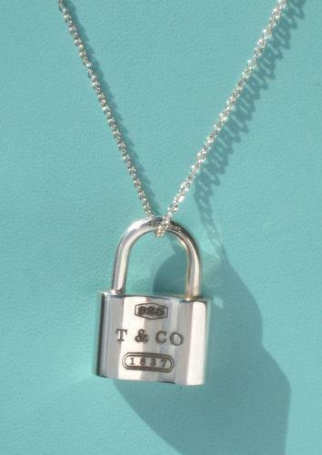 am mp yours necklace lrg phab rose sterling m i silver detailmain in padlock lock and gold vermeil key