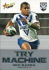 Ben Barba Canterbury Bulldogs Single NRL & Rugby League Trading Cards
