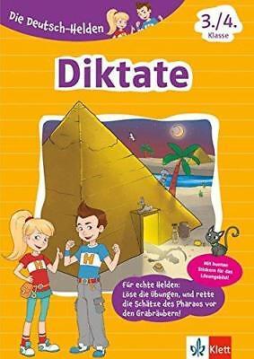 Klett Die Deutsch-Helden Diktate 3./4. Klasse (Klettern Klasse)