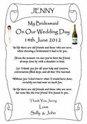 Wedding Thank You Scrolls